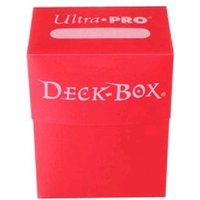 Ultra Pro Red Trading Card Deck Box