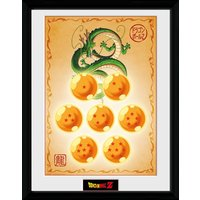 Dragonball Z Dragon Balls Framed Collector Print