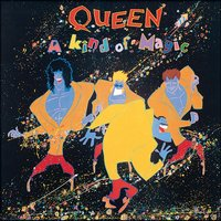 Queen - A Kind Of Magic 12 Inch Album Cover Framed Print