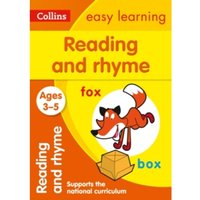 Reading and Rhyme Ages 3-5: New Edition