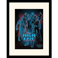 Ready Player One - The High Five Mounted & Framed 30 x 40cm Print