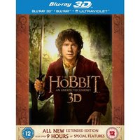 Hobbit An Unexpected Journey Extended Edition 3D Blu-ray 2D Blu-ray