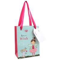 Pack of 10 Small Fleur The Fairy Gift Bags