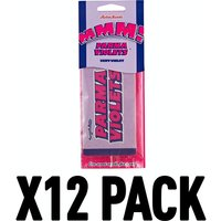 Parma Violets (Pack Of 12) Retro Scents Air Freshener