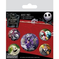 Nightmare Before Christmas - Characters Badge Pack
