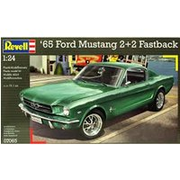 1965 Ford Mustang 2+2 Fastback 1:24 Revell Model Kit