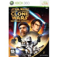(USED) Star Wars The Clone Wars Republic Heroes Game