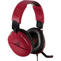 Turtle Beach Recon 70N Midnight Red Gaming Headset for Nintendo Switch, PS4, Xbox One and