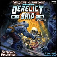 Shadows of Brimstone: Derelict Ship Otherworld Expansion Board Game