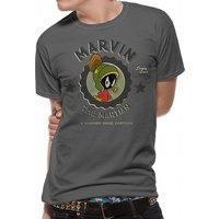 Looney Tunes - Marvin Martian Men's X-Large T-Shirt - Grey