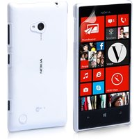 YouSave Accessories Nokia Lumia 720 Hard Silicone Case - Crystal Clear