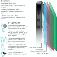 YouSave Accessories Sony Xperia Z4 Screen Protector X 3 - Clear