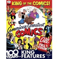 King Of Comics 100 Years King Features Syndicate Hardcover