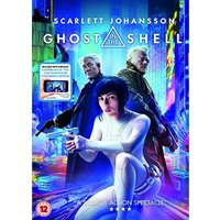 Ghost In The Shell DVD (2017)