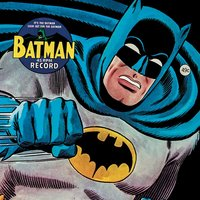 Batman - 45rpm Record Canvas