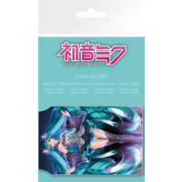 Hatsune Miku Logo Card Holder