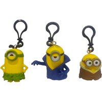 Minions Movie Set Of 3 Key Chains