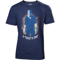 Uncharted 4 A Thief's End Men's Boxcover Large T-Shirt