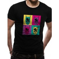 Batman - Pop Art Men's Small T-Shirt - Black