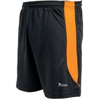 Precision Real Shorts 30-32 inch Black/Tangerine