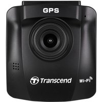 Transcend DrivePro 230 1080P Full HD Dashcam With Built-in Wi-Fi and GPS Includes Suction Mount