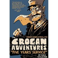 Crogan Adventures Colour Five Years' Service Hardcover