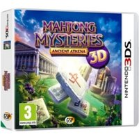 Mahjong Mysteries Ancient Athena Game 3DS