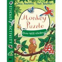 Monkey Puzzle Sticker Book