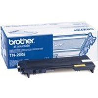 Brother TN-2005 Toner black, 1.5K pages