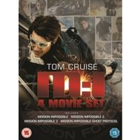 Mission Impossible 1-4 DVD