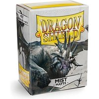 Dragon Shield Matte - Mist 100 Sleeves In Box Limited Edition - 10 Packs
