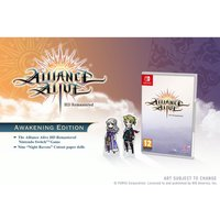 The Alliance Alive HD Remastered Awakening Edition Nintendo Switch Game