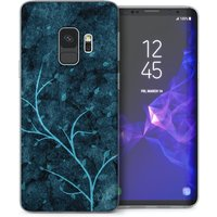 CASEFLEX SAMSUNG GALAXY S9 BLUE TREE CASE / COVER (3D)