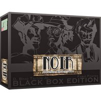 NOIR Deductive Mystery Game Black Box Edition