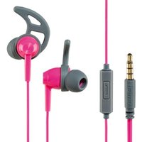 Hama Action In-Ear Stereo Headphones, pink/grey