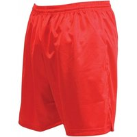 Precision Micro-stripe Football Shorts 34-36 inch Red