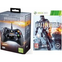 Battlefield 4 Game + China Rising Expansion Pack DLC + BF4 Wired Controller