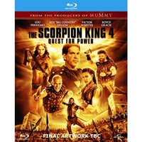 The Scorpion King 4: Quest for Power Blu Ray