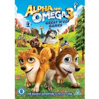 Alpha and Omega 3 - The Great Wolf Games DVD
