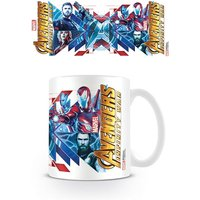 Avengers: Infinity War - Red Blue Assemble Mug