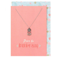 Dream Big Necklace and Card Pack Of 12