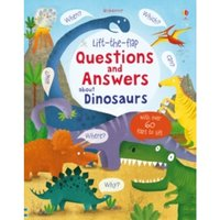 Lift-the-Flap Questions and Answers About Dinosaurs by Katie Daynes (Hardback, 2015)