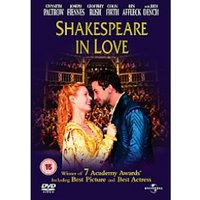 Shakespeare In Love DVD