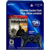 Ex-Display Resistance Fall Of Man & Resistance 2 Double Pack with Official Sony Dualshock Game