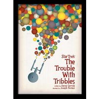Star Trek - The Trouble With Tribbles Framed 30 x 40cm Print