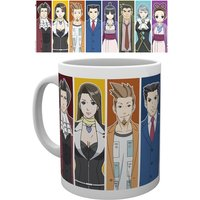 Ace Attorney - Characters Mug