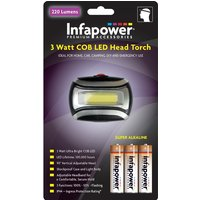 Infapower 3 Watt COB LED Head Torch