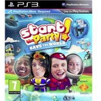 PlayStation Move Start The Party! Save The World Game