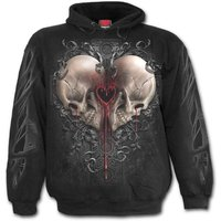 Dark Love Men's Large Hoodie - Black