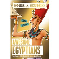 Awesome Egyptians by Terry Deary, Peter Hepplewhite (Paperback, 2017)
